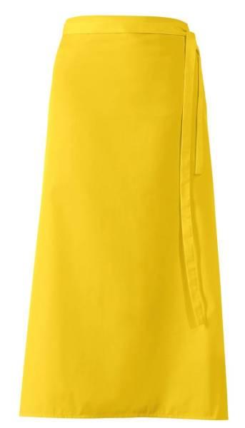 Gelbe Bistroschürze 100x100cm lb289