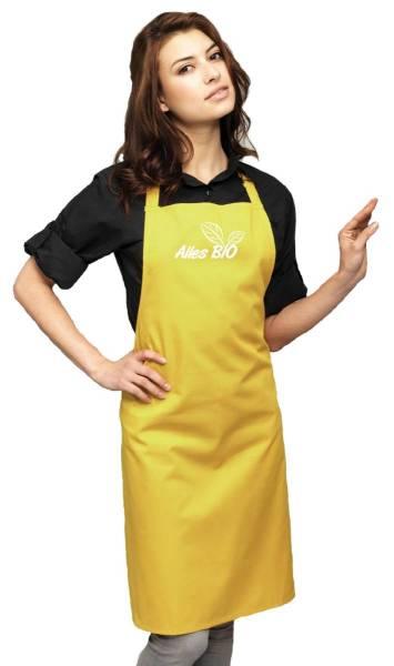 Alles Bio Schürze Mustard ab2