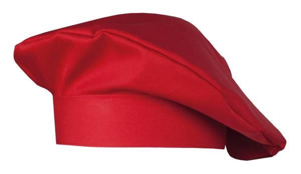 Rote Kochmütze Bistromütze Fano