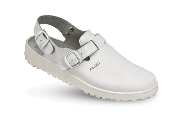 AWC Leder Sandale weiß 17500 18500