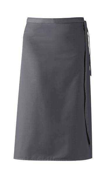 Dunkelgraue Bistroschürze 80x100 cm Leiber 11/435