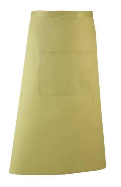lime Bistroschürze mit Tasche pr158