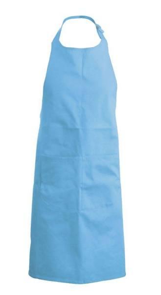 blaue Kinderlatzschürze K889