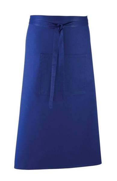 royal Bistroschürze mit Tasche pr158 königsblau