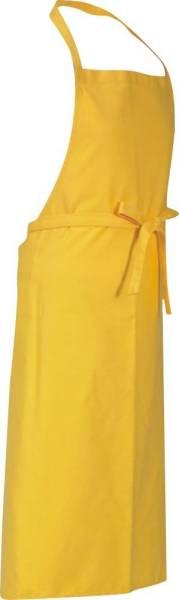 Gelbe Latzschürze 110x78cm Verona von CG Workwear