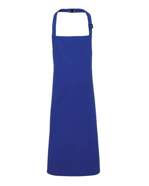 Blaue Kinderschürze Nackenband verstellbar