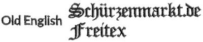 old-english-stickschrift