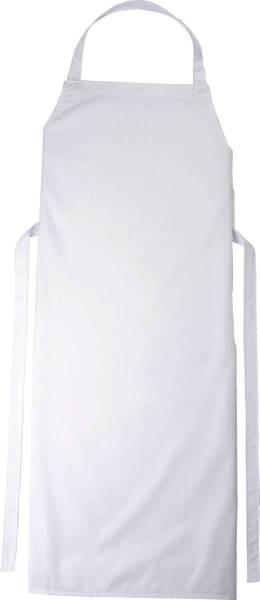 Weisse Latzschürze 90x78cm Verona von CG Workwear
