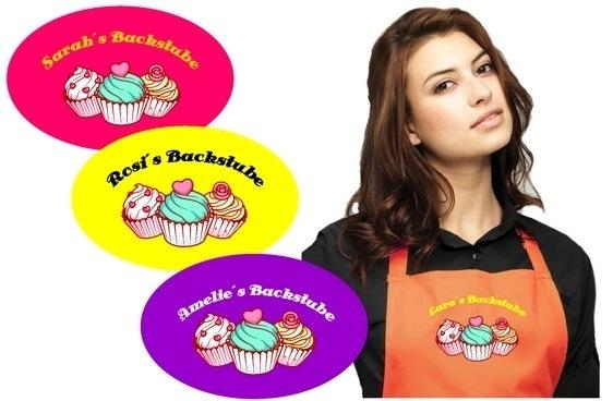 cupcake-backstube Motivschürze