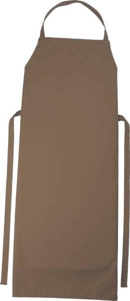 Taupe Kinderschürze 50x78cm, 95 Grad waschbar, Sassari CG-Workwear