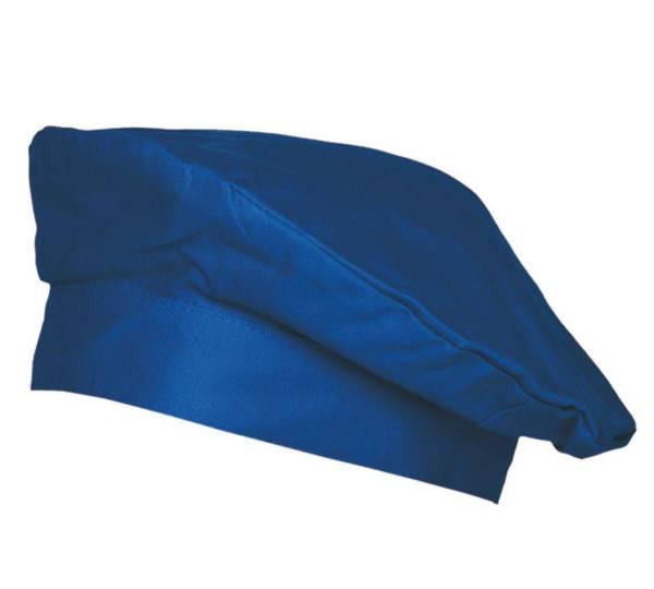 Blaue Barett-Kochmütze Luka