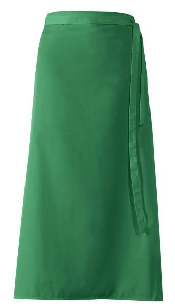 Grüne Bistroschürze mit Geschlitz lb153