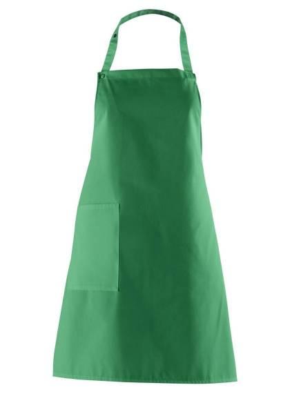 Latzschürze grün lb473 Leiber