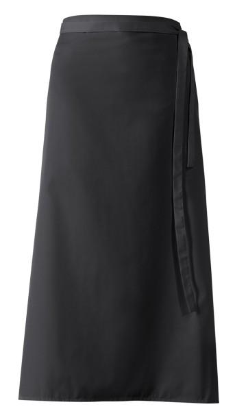 Schwarze Bistroschürze 100x100cm lb153