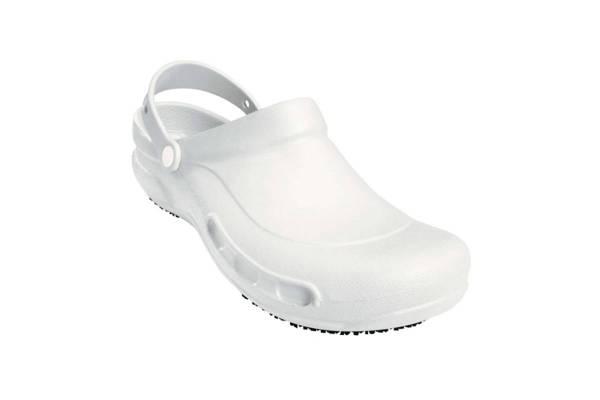 Waschbarer Clog - Op-Schuh weiß