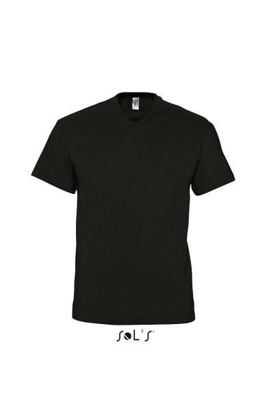 Schwarzes V-Neck T-Shirt Victory 3er-Pack