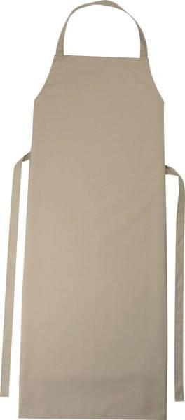Hellbraune Latzschürze 110x78cm Verona khaki von CG Workwear
