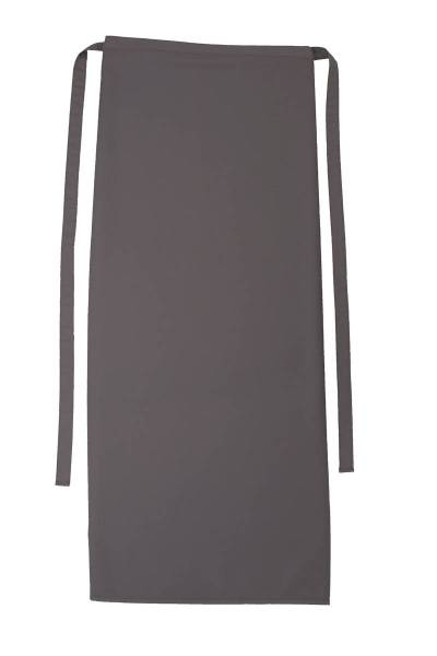 Graue Bistroschürze 100x100cm Roma Elefant von CG Workwear