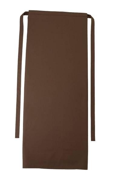 Braune Bistroschürze 100x100cm Roma Toffee von CG Workwear