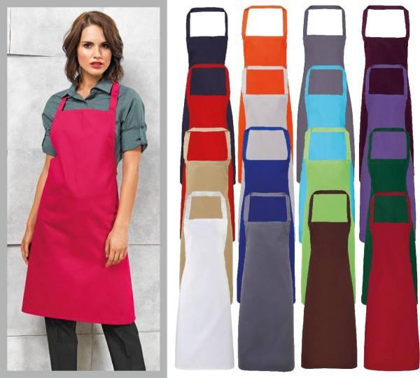 Baumwollschürze in vielen Farben