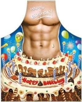 Happy Birthday M;ann lustige Schürze ITATI