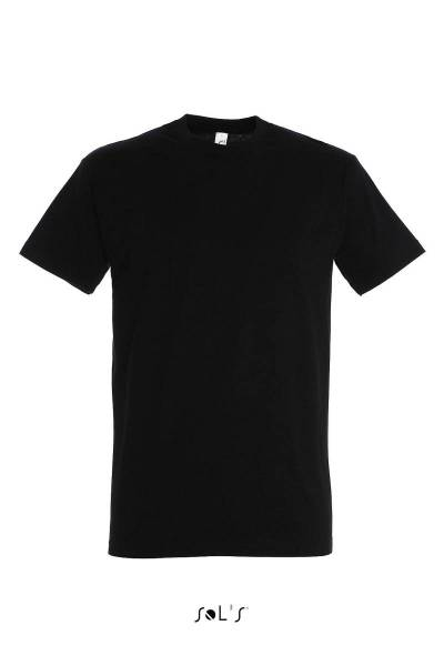 Schwarzes T-Shirt Imperial Sol´s