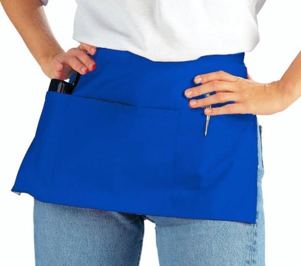 Blauer Vorbinder mit Taschen leiber 434 royal