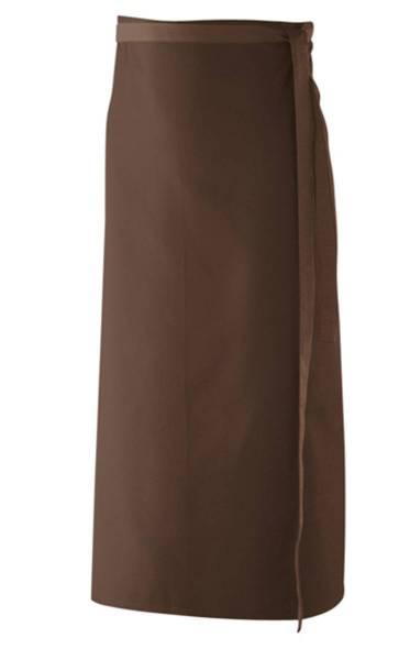 Braune Bistroschürze 80x100cm ex102