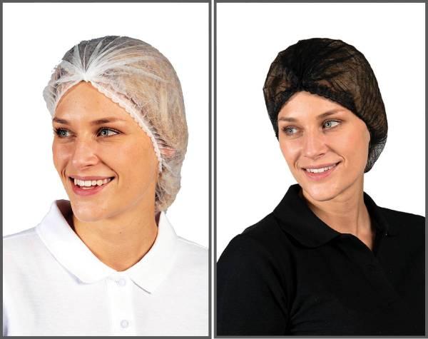 Einweg Haarnetz Weiß oder Schwarz