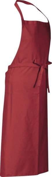 Rote Latzschürze 90x78cm Verona von CG Workwear