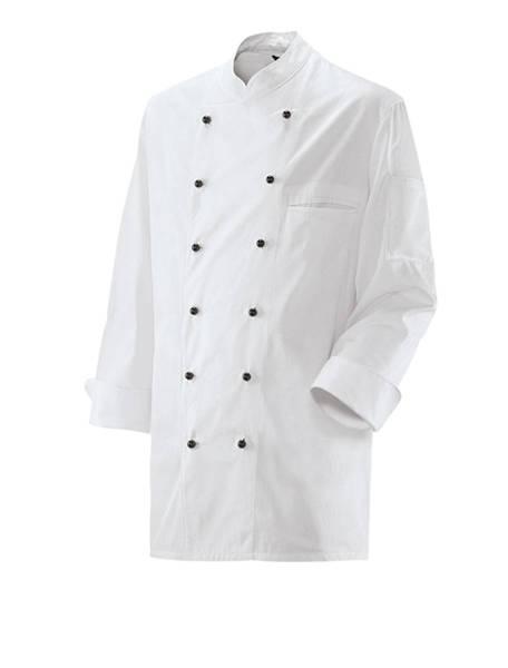 Weiße Kochjacke unisex Ex200