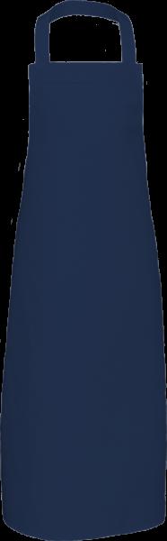 Navyblaue Latzschürze extra lang X969 Link Kitchenwear