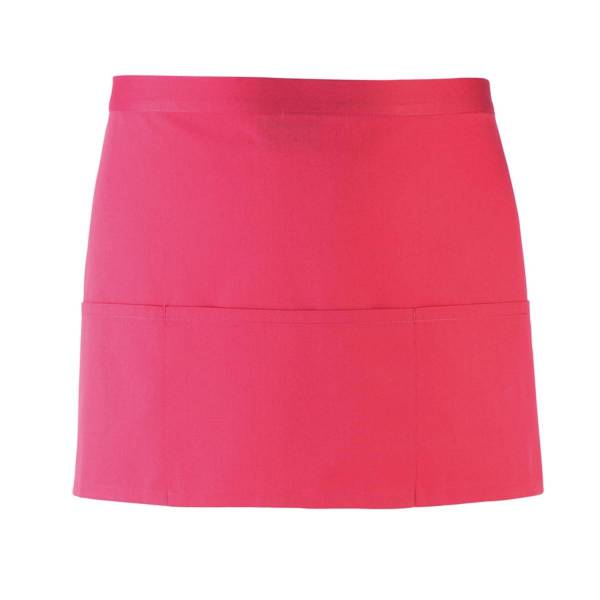 hot pink Vorbinder / kurze Kellnerschürze