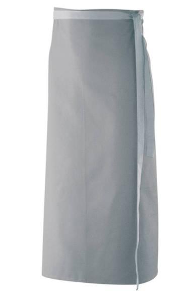 Hellgraue Bistroschürze 100x100cm ex103