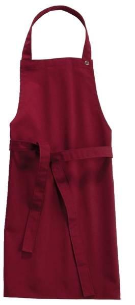 Rote Kinderlatzschürze 65x40cm Sassari CG Workwear