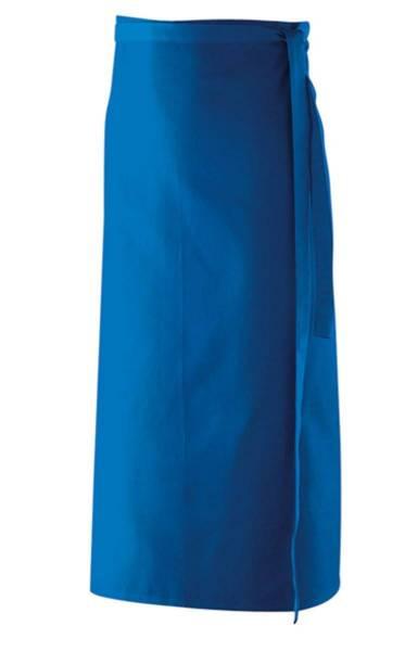 Royalblaue Bistroschürze ex102 Königsblau