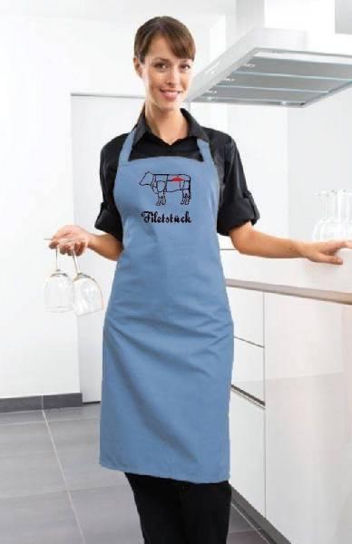 Blaue Schürze Filetstück Rind
