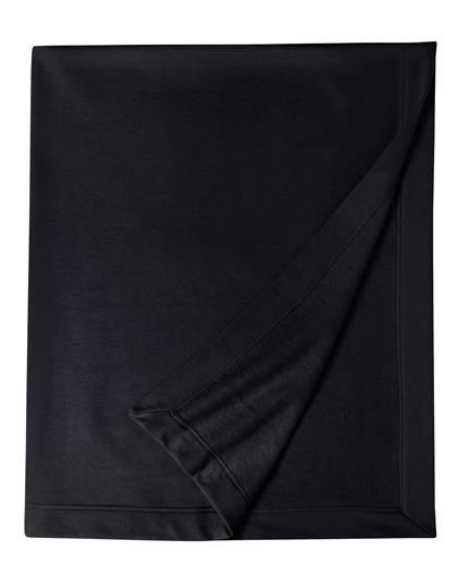 Fleece-Decke bestickt