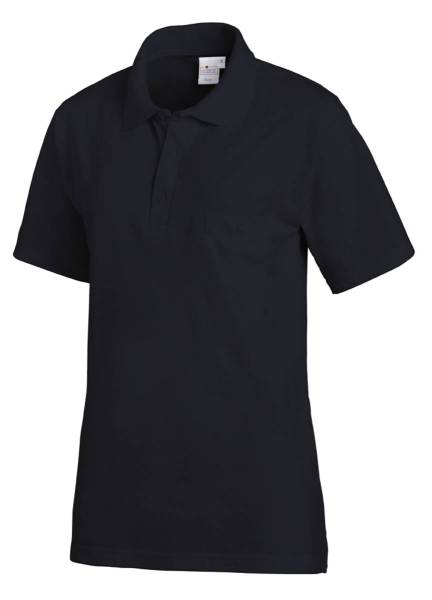 Dunkelblaues Polo-Shirt Leiber 241