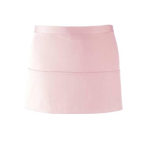 rosa Vorbinder / kurze Kellnerschürze