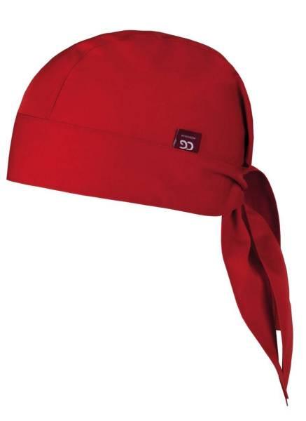 Rotes Bandana für Damen und Herren Prato CG Workwear