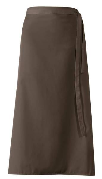 Braune Bistroschürze 100x100cm lb289 toffee