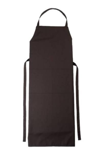 Braune Latzschürze mit Tasche Verona von CG Workwear