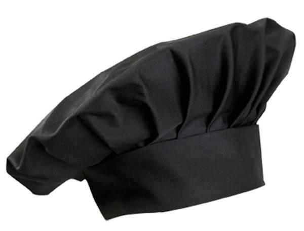 Dunkelgraue Kochmütze Chianti