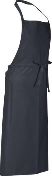 Dunkelgraue Latzschürze 110x78cm Verona von CG Workwear