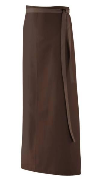 Braune Bistroschürze 100x100cm ex103