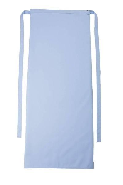 Hellblaue Bistroschürze 100x100cm Roma von CG Workwear