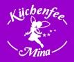 lila Schürze Küchenfee