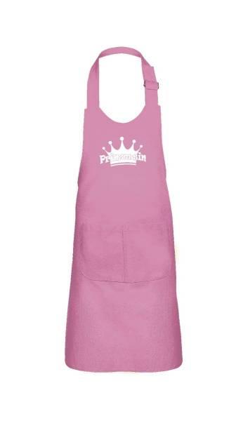 Pinke Kinderschürze Prinzessin V1 64x47cm freitex