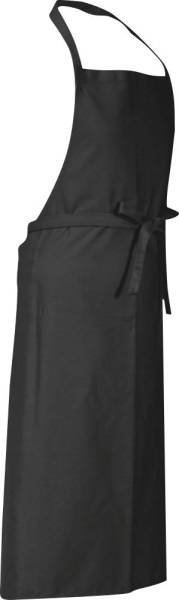 Dunkelgraue Latzschürze 90x75cm Verona von CG Workwear
